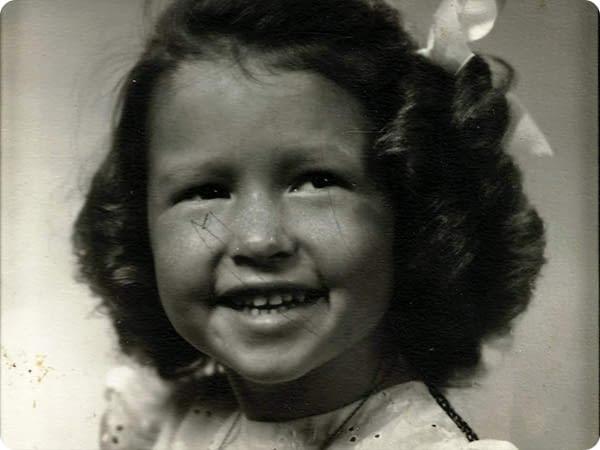 Pat Dando Childhood Picture